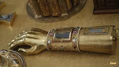 13. Ковчег в виде руки с частью десницы святителя Тихона