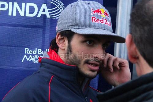 Carlos Sainz Jr at Formula One Winter Testing 2015
