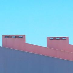 Aljezur, Portugal (Sallyrango) Tags: roof portugal architecture buildings europe bright details bluesky algarve aljezur fragments
