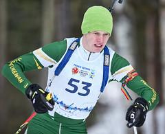 Biathlon2015_02_17 (61) (Don Voaklander) Tags: woman snow man ski male men female race women gun lap target poles skis princegeorge otway 2015canadawintergames voaklander donvoaklander