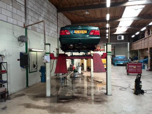 Auto is gewassen