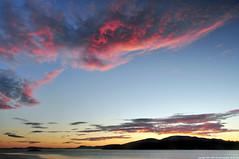 2016-07-14 Sunset (01) (Long Exposure) (1024x680) (-jon) Tags: anacortes skagitcounty skagit washingtonstate salishsea fidalgoisland sanjuanislands pugetsound guemeschannel curtiswharf sunset clouds cloud sky water a266122photographyproduction red seascape portofanacortes marineterminal sunsetcoucherdusoleil tramonto  puestadelsol   matahariterbenam  sonnenuntergang