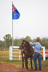 cowboy (goodgirlbetty) Tags: horses cowboy boots working australia riding saddle bronc stockman