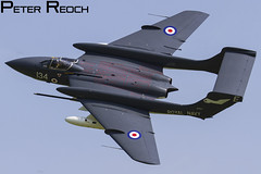 G-CVIX / Fly Navy Heritage Trust / Sea Vixen FAW2 (Peter Reoch Photography) Tags: aircraft royal navy rn fleet air arm naval aviation flying