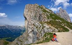 guardando la Val di Funes (Franco Vannini) Tags: dolomiti dolomites odles sassrigais fermeda seceda valgardena valdifunes odle