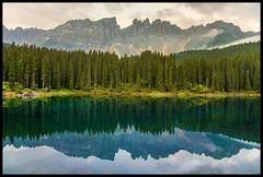 GreenMirror (ELtano86) Tags: dolomiti dolomites eltano86 carezza lake reflexion reflexions reflejo