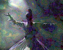 WhirlSeeWhatHappens (eclectio) Tags: collage colorful sufi whirlingdervish eclectio