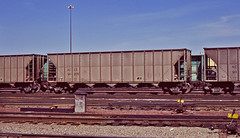 ACCX 90205 coal hopper-Denver, Colorado. (Wheatking2011) Tags: accx coal hopper consolidation company sold union electric energy reporting marks had been changed rio grande north yard denver colorado 35mm slide converted digital
