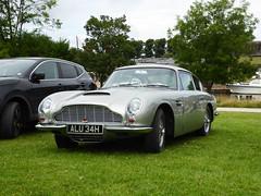 Aston Martin DB6 (Gilder Kate) Tags: astonmartin aston martin db6 astonmartindb6 hurstpark hurstparkmeadows molesey surrey panasoniclumixdmctz70 panasoniclumix panasonic lumix dmctz70 tz70