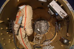 Mir Orbital Station Airlock (JeDi58) Tags: europe russia moscow cosmonaut cccp spacemuseum 2016 cdavidgpaul