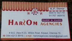 bc1 (ari_matrix) Tags: hari om agency millers road chennai davey diaper sugar one touch