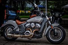 Indian Scout (StevanBaird) Tags: grandnationals chopper motorcycle custom lordoftherings
