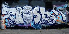 graffiti amsterdam (wojofoto) Tags: holland amsterdam graffiti nederland netherland bbr ndsm trasher wolfgangjosten wojofoto