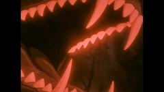 Sniper's Red Glare (qwertyuiop767) Tags: ginga nagareboshi gin anime mawshot maw mouth teeth tongue open slobber saliva dog canine sniper doberman pinscher red glare shine