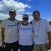 <b>Bob Norbie (in original B76 t-shirt) with Johanna (Joke) Van Zee from Eugene, OR and Frank Van Dijk from the Netherlands</b><br />
