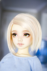 Another commission! (✄Frappzilla) Tags: unoa lusis soy wig bob doll bjd