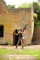 Tomb Raider Shoot with Annick 034 (berserker244) Tags: yggdrasilphotography60072016 guerrillaphotography yggdrasilphotography evandijk annick annickscosplay laracroft tombraider riseofthetombraider grebbeberg rhenen
