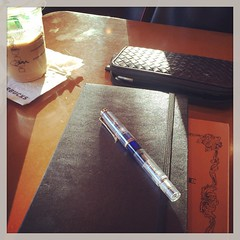 #afternoonsun #starbucks #moleskine #life #pelikan #fountainpen (satoko_momo) Tags: instagramapp square squareformat iphoneography uploaded:by=instagram rise