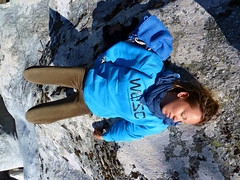 Girl 02 resting after a long climb (angeloska) Tags: ikaria may hikingtrails opsikarias aegean greece signage      chalares upperchalares dipotama ratsos   swimmingholes prettygirl sleep