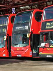 GAL EN26 - LK57EJO - BX BEXLEYHEATH BUS GARAGE - SUN 21ST AUG 2016 (Bexleybus) Tags: adl dennis enviro 400 goahead go ahead london bx bexleyheath bus garage kent tfl route 132 firstbus en26 lk57ejo dns35002