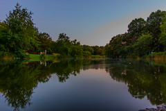 Mollsee, Westpark, Munich (mistermo) Tags: sunset munich mnchen nature natur wasser city munichcity longexposure lanzeitbelichtung ndfilter westpark photography art canon canoneos50d