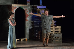 160724_MilesGloriosus_246 (sergio_scarpellini) Tags: milesgloriosus plautusfestival plautus theater teatro sarsina plauto ettorebassi justinemattera corradotedeschi