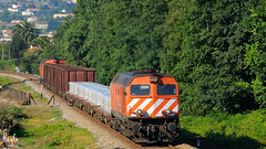 Caminha (***REGFA***) Tags: 1963 1973 cp comboios mercadorias caminha tren refer alco diesel portugal