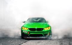 GTS. (Alex Penfold) Tags: m4 gts green supercars supercar super car cars autos burnout smoke alex penfold london 2016