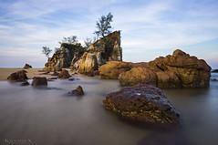 Kemasik... (KM SNIPER-X) Tags: sony a57 carlzeiss photography kmsniperx landscape seascape kemasik pantai longexposure slowshutter leefilter sunset sunrise