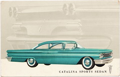 """SE Pontiac Detroit MI c.1950 WIDE-TRACK HISTORY THE PONTIAC CATALINA SPORTS SEDAN The only car with wide-track wheels (UpNorth Memories - Donald (Don) Harrison) Tags: """" """"railroad ferry"""" """"car excursion vintage antique postcard rppc """"don harrison"""" """"upnorth memories"""" upnorth memories upnorthmemories michigan history heritage travel tourism """"michigan roadside restaurants cafes motels hotels """"tourist stops"""" """"travel trailer parks"""" campgrounds cottages cabins """"roadside entertainment"""" """"natural wonders"""" attractions usa puremichigan"""