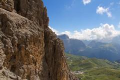 Sassolungo, Dolomiti. (Giorgio Pongiluppi) Tags: dolomiti alpi alps italia montagna roccia sasslong sassolungo