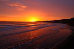 Scarborough Sunrise (Martin F Hughes) Tags: uk slr sunrise canon landscape eos martin yorkshire explore scarborough hughes 500d 100400 martinhughes