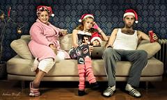 Alle Jahre wieder... (Fabian Brogle) Tags: trash weihnachten asi lockenwickler schaebig weihnahtskarte