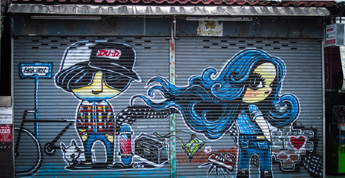 Street Art - Hua Hin, Thailand