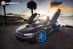 BMW i8 on HRE P101 (wheels_boutique) Tags: miami bmw hre i8 p101 hrewheels wheelsboutique teamwb wheelsboutiquecom keenanwarner