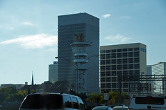 Olympic torch tower, Atlanta, GA (SomePhotosTakenByMe) Tags: city atlanta vacation usa holiday building tower architecture america georgia unitedstates urlaub stadt olympia architektur olympics amerika turm ontheroad gebäude olympictorch olympischespiele olympictorchtower