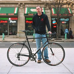 TBT last years expo portrait (Photo by @jpbevins ) #weavercycleworks #custombicycles