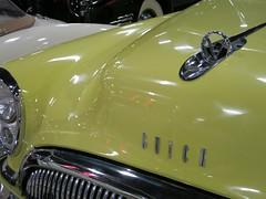 1954 Buick Roadmaster (CapCase) Tags: classic car museum buick automobile convertible hoodornament roadmaster tupeloautomobilemuseum