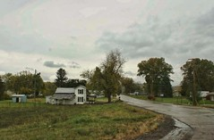 Exit Ramp (~ Liberty Images) Tags: road trees ohio house green town cloudy overcast verdant smalltown
