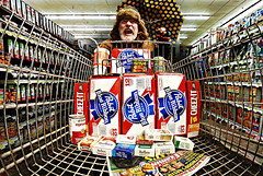 Henry wins a $100 Shopping Spree at the Piggly Wiggly (Studio d'Xavier) Tags: day2 365 pigglywiggly 2365 shoppingspree werehere theconsumerist day2365 365the2015edition 3652015 2jan15 january22015