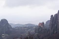 GREECEMAINLAND2015-008 (roberic) Tags: winter snow mountains clouds village unesco greece monastery meteora
