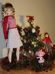 CIMG8622 (Ninotpetrificat) Tags: christmas anime japan weihnachten navidad doll manga totoro sao nadal madoka mueca azone obitsu asuna 13doll luluna cupoche