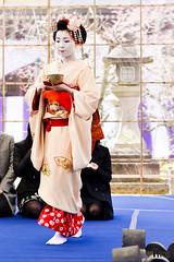 Maiko (GGG 3) Tags: portrait woman girl beauty festival japan lady kyoto event maiko geiko geisha  kitano kimono tradition    tenmangu baikasai        kamisitiken