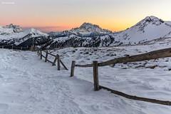 """verso la """"NordOvest"""" (sml_sc) Tags: sunset montagne tramonti dolomiti montecivetta settsass coldilana nordovest montepore forcellasief"""