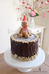 Gingerbread Man (Little Cottage Cupcakes) Tags: christmas cake mudcake caketopper gingerbreadman fondant sugarpaste littlecottagecupcakes