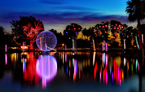 Flickriver Gbrummett's Photos Tagged With Lights - Phoenix Zoo Christmas Lights