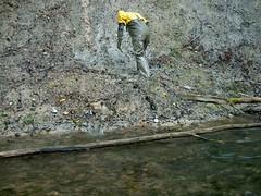 IM001136 (hymerwaders) Tags: wet yellow mud gelb muddy schlamm matsch nass chestwaders watstiefel watsteifel