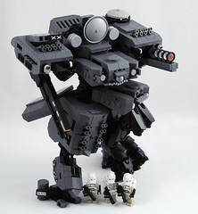 Gas Master's Ass Blasters: Remastered (Mechanekton) Tags: robot lego space military machine scifi mecha mech drone