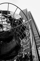 The World is not Enough (ranzino) Tags: nyc newyorkcity sculpture ny newyork building skyscraper globe unitedstates centralpark trump stafftrip