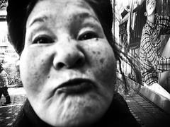Kiss (MT...) Tags: street blackandwhite bw monochrome tokyo candid